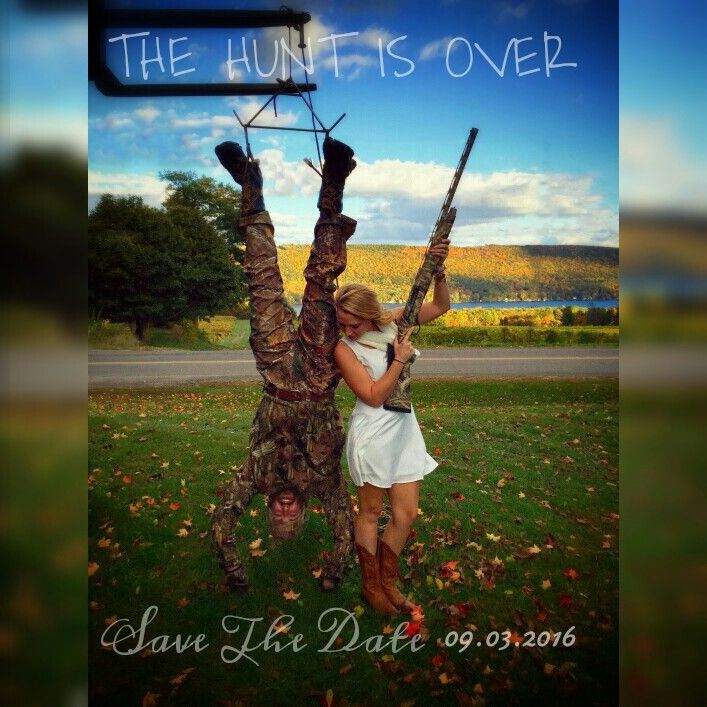 The Hunt is Over - Save the date
