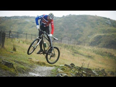 Team GB Olympic MTB hopefuls tear up Lee Quarry Bacup Rossendale
