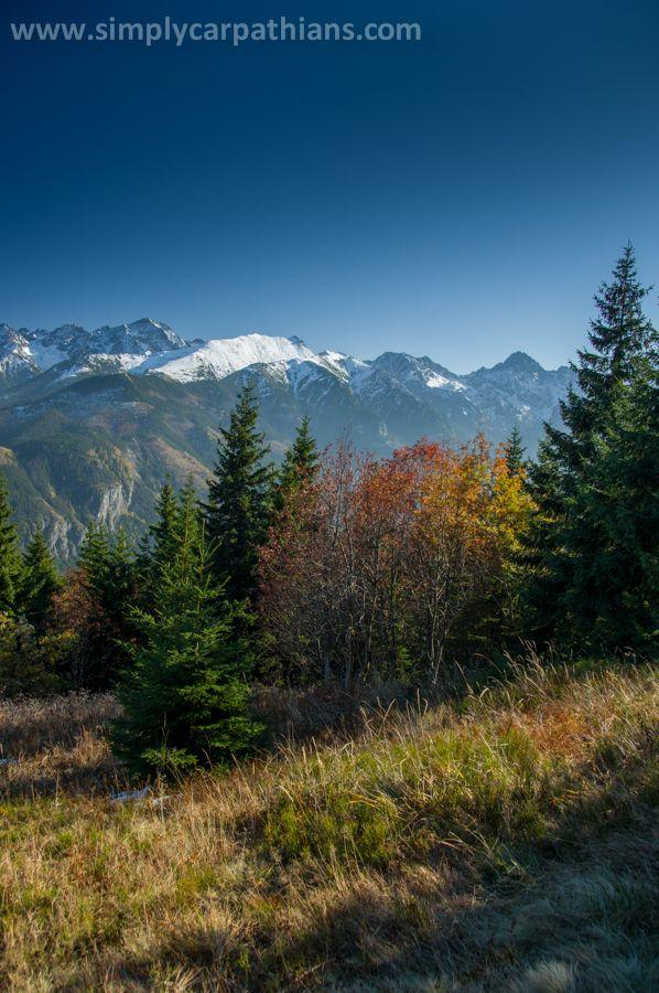 Autumn in the Tatra Mountains.