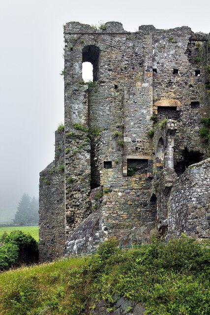 Castle in the Mist - Ireland