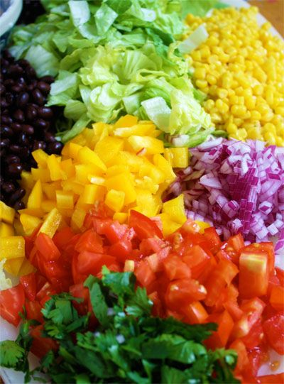 lettuce southwestern salad layered salads a rainbow frozen corn salad ...