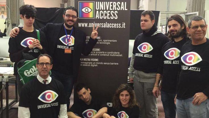 Brand Identity + materiali stand Handimatica per Universal Access @Universalaccess