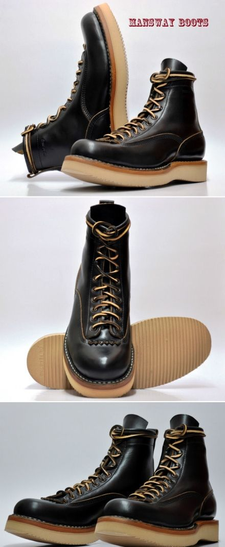 MANSWAY BOOTS WITH VIBRAM SOLE MADE IN THE USA www.mansway.com