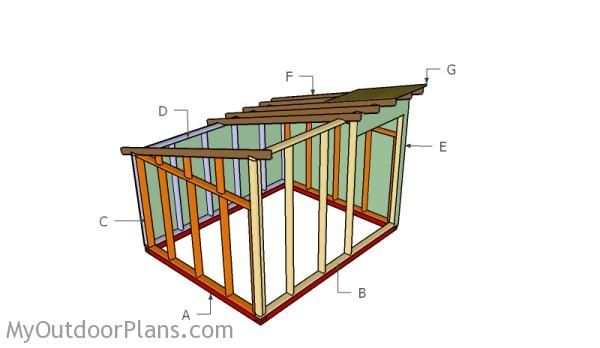 Goat shelter plans free outdoor plans diy shed wooden Shelter house plans