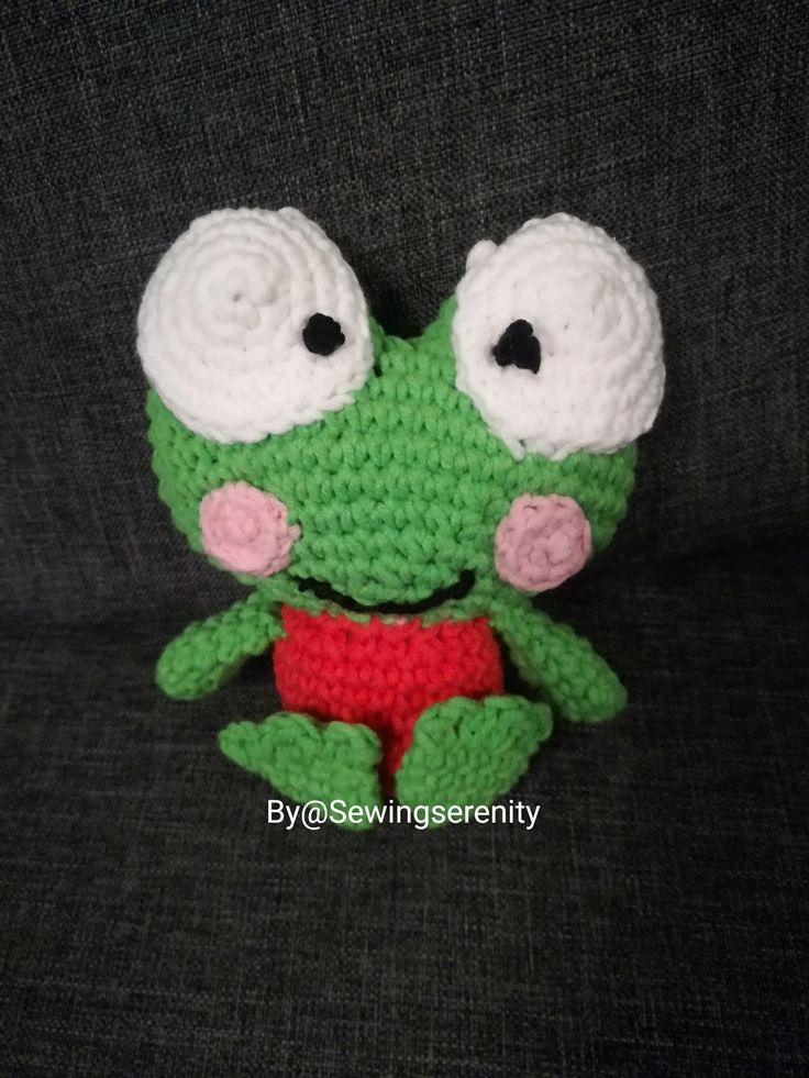 I ❤️ amigurumi Keroppi Sanrjo crochet
