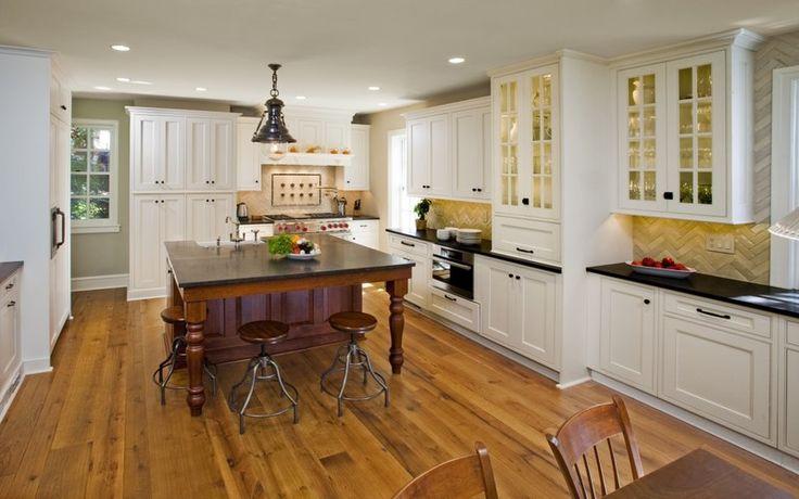 La tarima flotante tambien la podemos colocar en cocinas y comedores sin miedo al desgaste