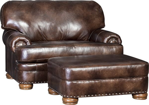 Mayo S 3620l Chair Amp Ottoman In Heirloom Bach Brown Mayo