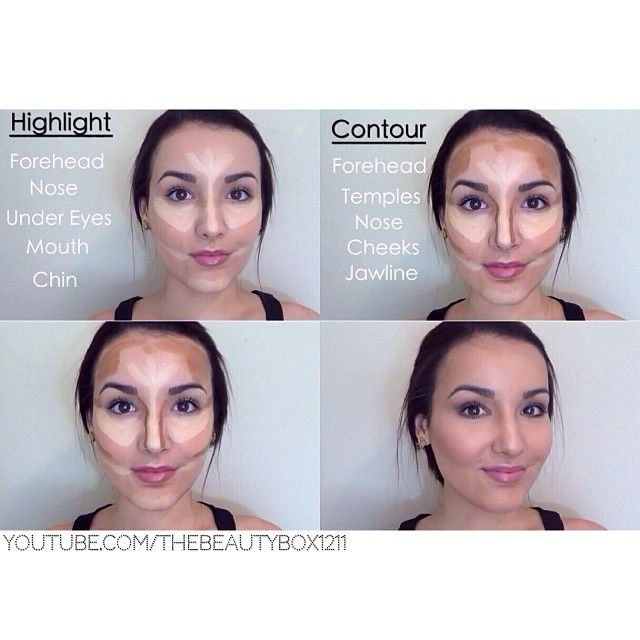 Best 25+ Simple contouring ideas on Pinterest | Face contouring ...