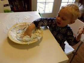 i'm going to make it (after all): 100 (Attempted) Ways to Entertain a Young Toddler, Day 88: Play Foam