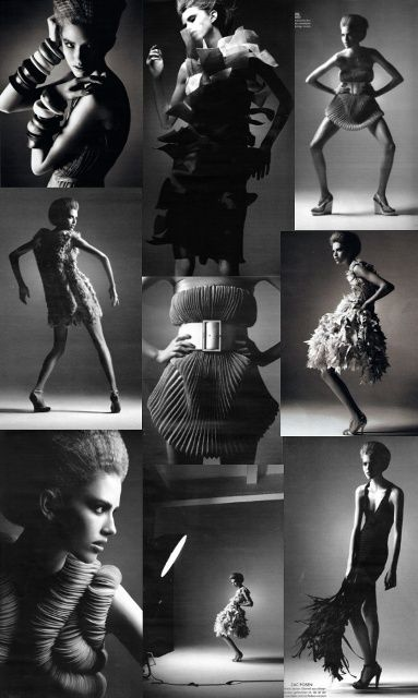 Fashion is the picture of a dream and the artistic expression of the body.   Photos: Alexi Lubomirski