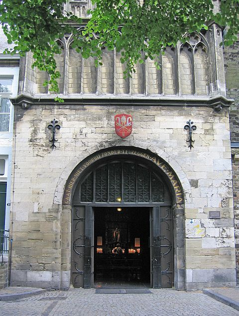 Entrance kapel Sterre der Zee, part of the Onze Lieve Vrouwe kerk, Maastricht , Netherlands