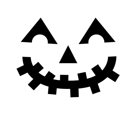 download this jack o 39 lantern smile carving stencil and other free printables from myscrapnook. Black Bedroom Furniture Sets. Home Design Ideas