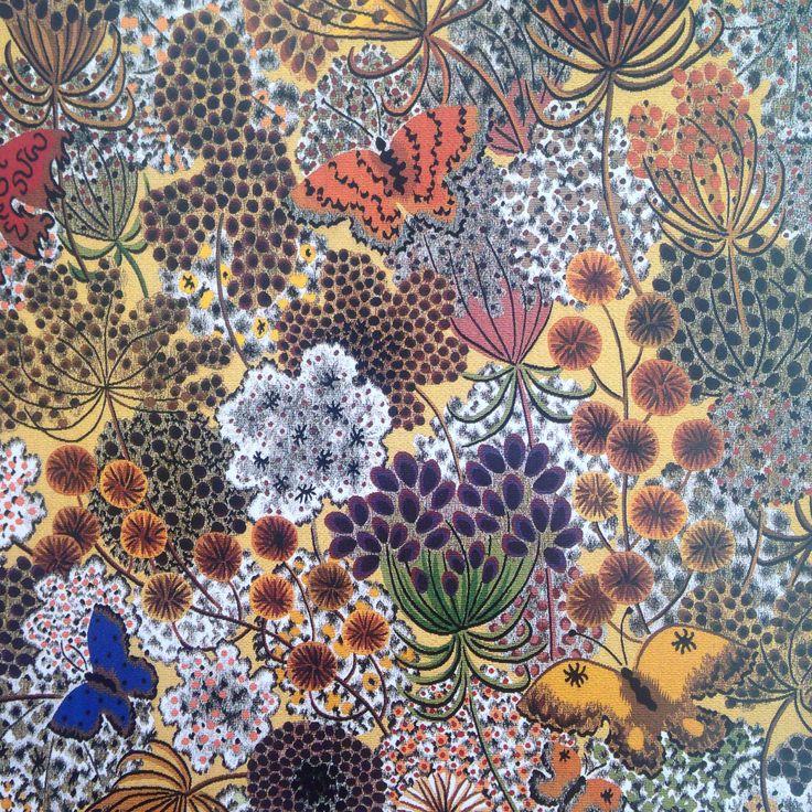 Ombelles, tapisserie de Dom Robert (atelier Goubely-Aubusson)