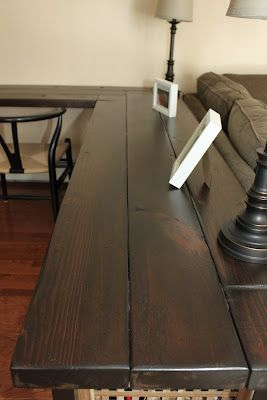 meg & the martin men: Reclaimed Wood Console Table