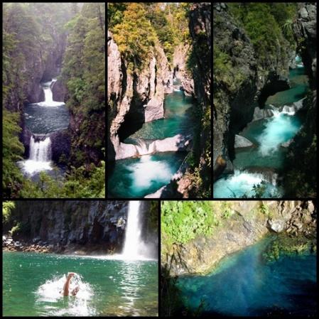 Parque Nacional de Siete Tazas Maule-Talca