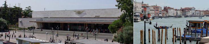 From Venice Airport to Venezia Santa Lucia railway station - Piazzale Roma