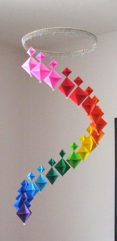 Origami Maniacs: Origami Modular Spinner