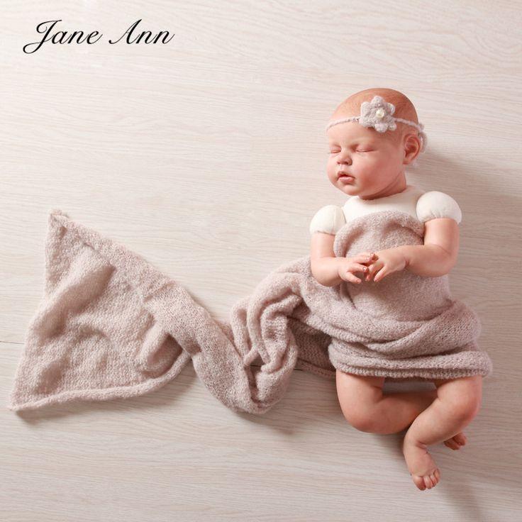 Новорожденный фотографии реквизит мохер новорожденных стрейч и Ручной Цветы Повязка Фотография Реквизит Экипировка 15 Цвета подарок душа ребенка
