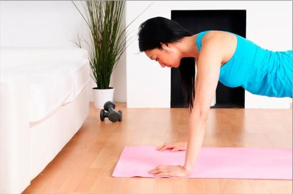 Exercices pour raffermir les bras