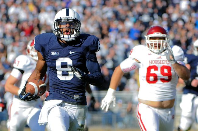 PENN STATE – FOOTBALL 2013 – The Hoosiers opened up with a 73-point offensive output against Indiana State and possess the 14th-best scoring offense in the country, averaging 44.5 points per game. Their 348.5 passing yards per contest is good enough for 11th in the country.
