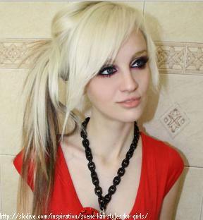 Choppy Scene Hairstyles | Medium Choppy Ponytail Hairstyles