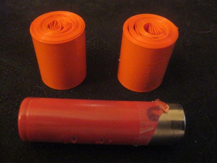 6.5ft PVC Heat Shrink Wrap Tubing for 18650 Batteries Red  #PVCHeatShrinkWrapTubing