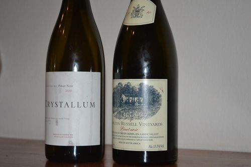 Pinot Noir Times - Tastings - Tasting Two of South Africa's Big Guns - #Wine #SAWines #PinotNoir