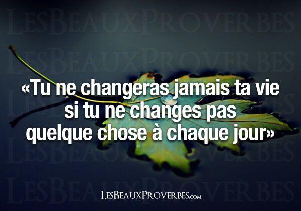 Les Beaux Proverbes – Proverbes, citations et pensées positives » » À chaque jour