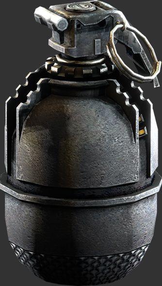 M194 Fragmentation Grenade, in the book alex and simon used a grenade to finally kill the wardon