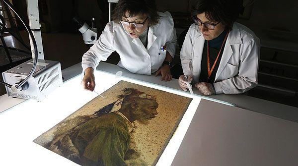 Llega al MNAC 'El santó Darcagüey', la obra de Josep Tapiró comprada con el dinero ingresado por el enlace de la sobrina del magnate Lakshmi Mittal