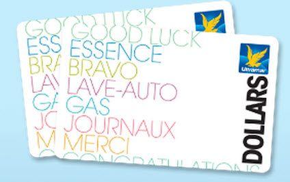 6 cartes d'essence Ultramar de 1,000$ à gagner - Quebec echantillons gratuits