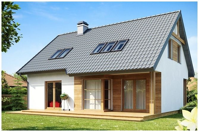 Z 66 (129,4 m2) | TROMAR Domy drewniane, domki letniskowe, domki ogrodowe, altany i altanki ogrodowe pomorskie, Trójmiasto