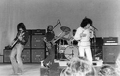 Nazareth performing 6 March 1976