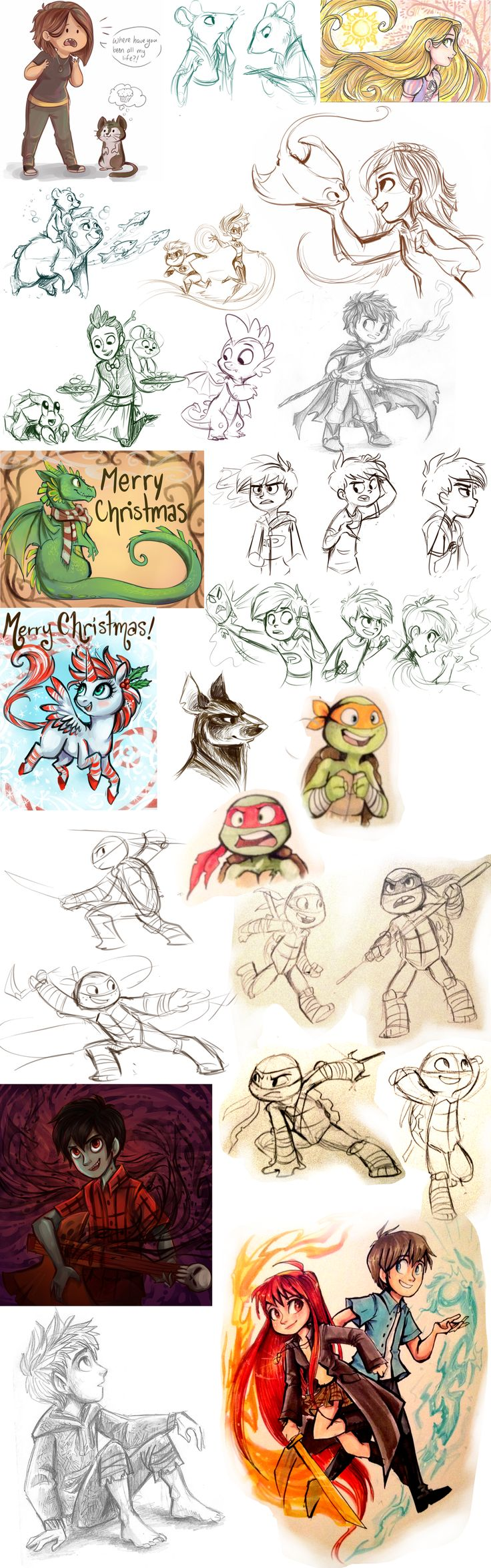 Paar plaatjes hier uit zijn van de turtles