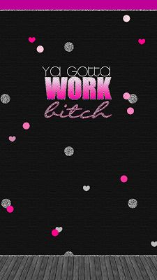 Ya Gotta Work Bitch, Britney Spears, silver glitter, polka dot, heart, wood grain, lyrics, quote phone wallpaper for Android and iPhone, free!
