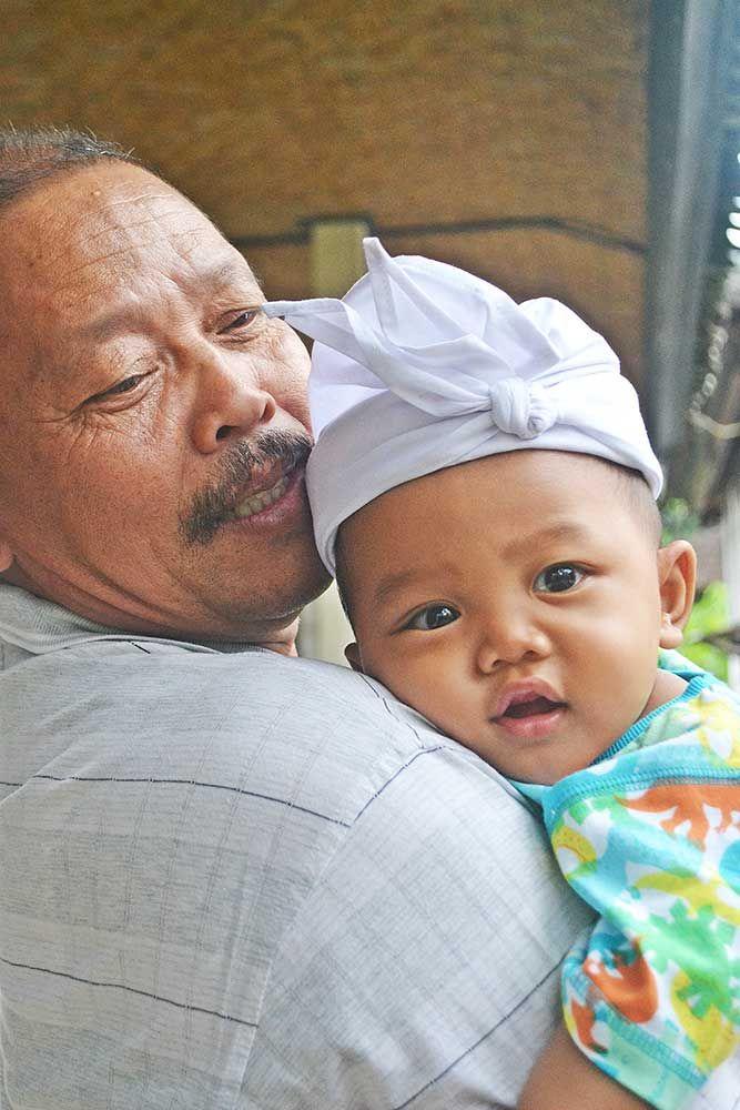 Grandpa & Grand Son
