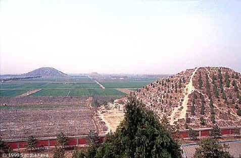 Pyramids of China - Early stories about the pyramids in China began right around the Second World War.