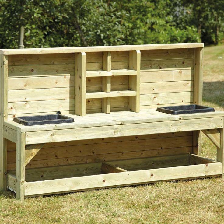 Best 25+ Outdoor Wooden Benches Ideas On Pinterest