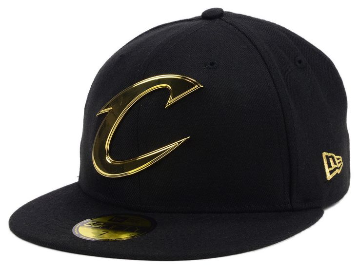 Cleveland Cavaliers New Era NBA Current O'Gold 59FIFTY Cap