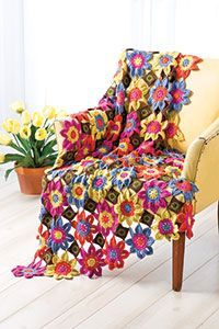 Free Vivaldi Throw Crochet Pattern