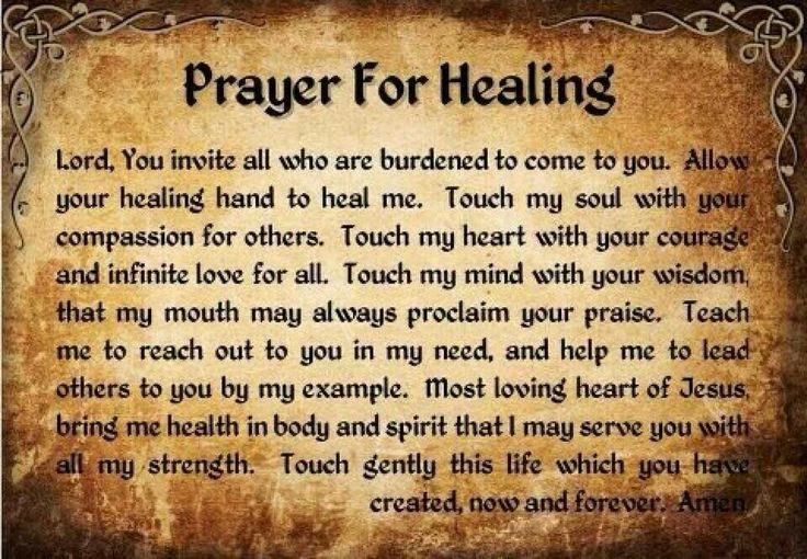 17 Best images about Prayers for healing those in Pain on ...