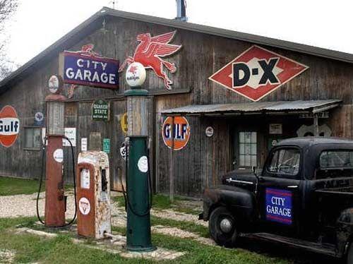 Vintage gas station garages and shops pinterest pump for Garage ad nancy