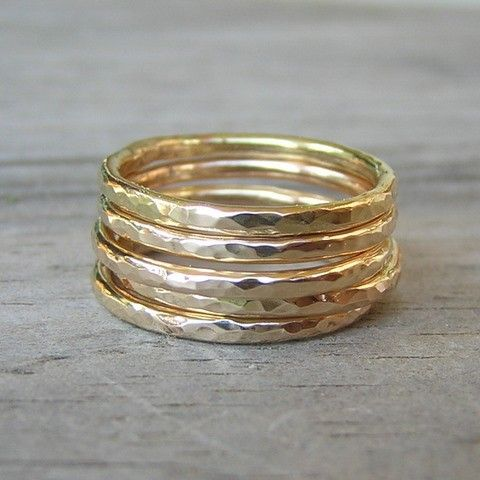 love stacked rings, I have a James Avery ring that looks almost just like this....
