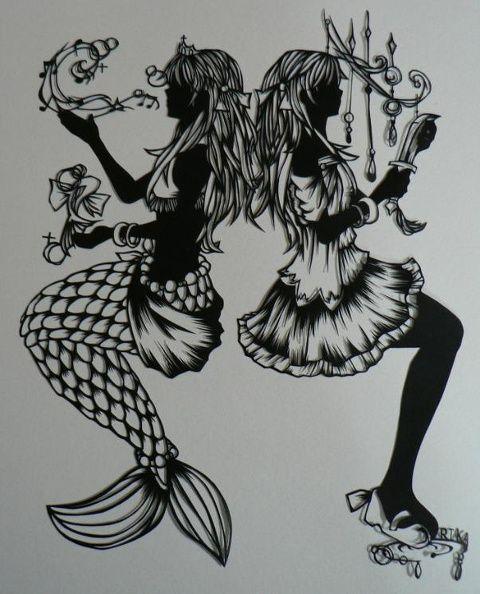 「人魚姫」/「RIKA」のイラスト [pixiv]                                                                                                                                                                                 もっと見る