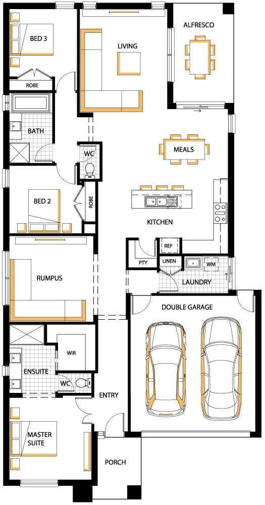 Best 25 small floor plans ideas on pinterest small home for Watercolor house plans