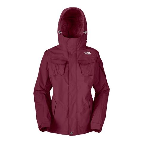 The North Face Women's Decagon Jacket ( Discontinued ) - Bordeaux Red: Verstility functionality comfort and waterproof breathability in…