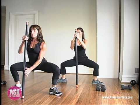 Weighted Body Bar Workout - Building Strength And Stamina 10 Minutes At A Time!