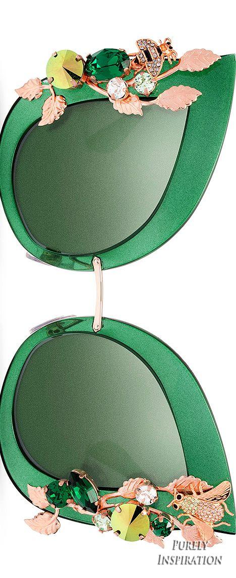 Dolce & Gabbana Botanical Sunglass Collection   Purely Inspiration