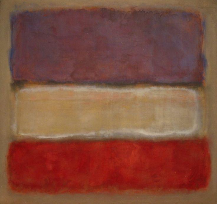 Mark Rothko (paintings, plastic arts, visual arts, fine arts, abstract expressionism)