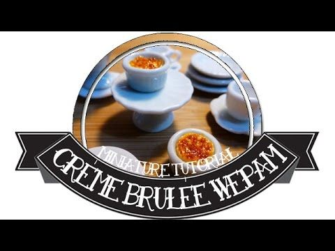 Crème Brûlée au Heat Gun en WePAM - YouTube